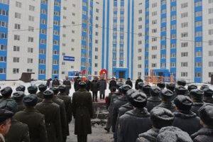 Вручение служебного жилья военнослужащим