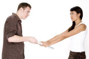 После развода возможно как устное соглашение, так и письменное
