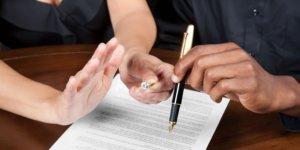 Составление договора о разделе имущества супругов носит добровольный характер