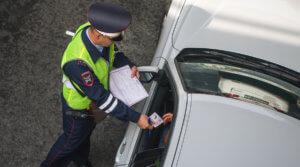 Штрафы за управления автомобилем без документов