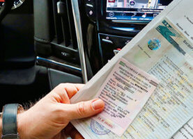 У водителя в обязательном порядке должен быть ряд документов