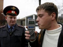 Законом РФ запрещается вождение автомобиля в опьяненном состоянии