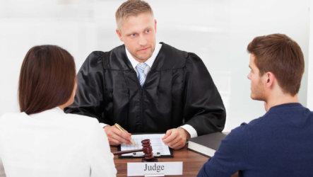 Развод, осуществляемый в судебном порядке при наличии в семье детей