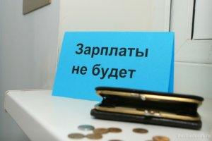 При задержки заработной платы слежует в первую очередь обратиться к работодателю
