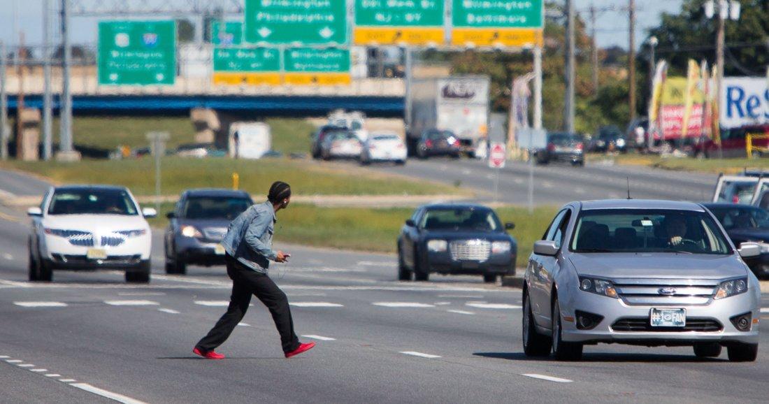 Сбил человека не на пешеходном переходе ответственность