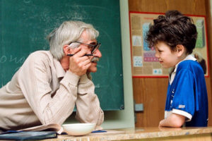 педагог со стажем