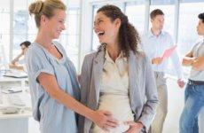 Как оформить декрет с декретной ставки, находясь на временной работе?