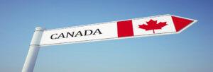 указатель канада