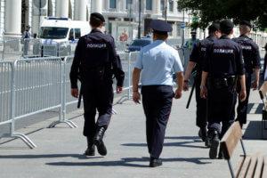 рейд полицейских